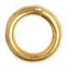 Jump Ring 4-50g Gold 4.5mm ID/7mm OD